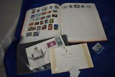 Vintage Worldwide Stamp Album With Stamps