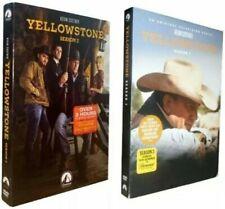 Yellowstone : The Complete Series Season 1 - 2  (DVD, 8-Disc Set) Free Shipping