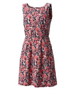 NEW Columbia PFG Harborside Sleeveless Linen Dress Size Small $70 Retail