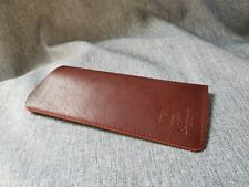 Eyeglass Sunglass Case VINTAGE Genuine Leather HANDMADE