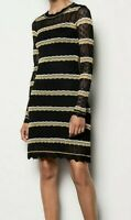 Karen Millen Striped knit dress (S / UK10) BNWT  RRP £160