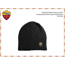 CAPPELLO CAPPELLINO BERRETTO AS ROMA CALDO COTONE PRODOTTO UFFICIALE 7559ed46ec27