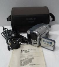 Sony DCR-TRV255 Camcorder and carry case *For Repair*