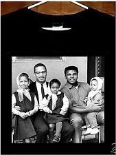 Muhammad Ali T shirt; Malcolm X Muhammad Ali Tee Shirt