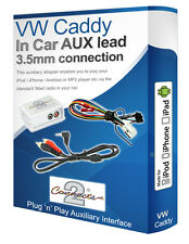 VW Caddy AUX piombo, iPod iPhone lettore MP3, adattatore ausiliario VW Interfaccia Kit