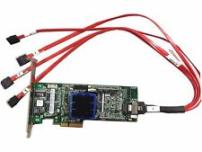 Adaptec ASR-3405 128MB 4-Port PCI-E RAID Controller Card With Cable