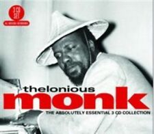 The Absolutely Essential 3 CD Collection by Thelonious Monk (CD, Sep-2011, 3 Discs, Big 3)