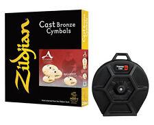 Zildjian A. Custom 4 Pack Matched Box Set w/Cymbal Case
