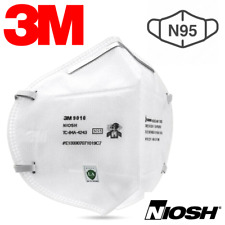1 PIECE: 3M 9010 N95 Respirator Face Mask Cover NIOSH Approved CDC Level FFP2