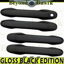 2012 2013 2014 2015 Honda Civic 4dr GLOSS BLACK Door Handle Covers Trims NO SMKY