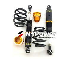 SYC ADJUSTABLE DAMPER COILOVERS REAR PAIR FOR FORD FALCON BA BF XR6 XR8 SEDAN