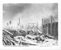 (163) Vintage USMC Photo Tarawa Operation Offical Photo #5-20