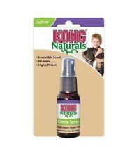 KONG Naturals Premium Catnip 30ml Spray Cats Kittens Cat nip