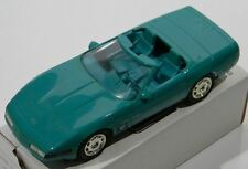 1994 Chevy Corvette Convertible Bright Aqua Metallic 6260 Ertl Amt Promo Car