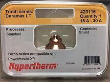 Genuine Hypertherm 420116 Shield Powermax 30 Xp Plasma Duramax Lt