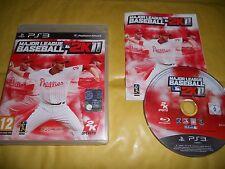 PS3 GAME: MAJOR LEAGUE BASEBALL 2K11-2011-SONY PLAYSTATION-PS1-PS2-PS3-INGLESE