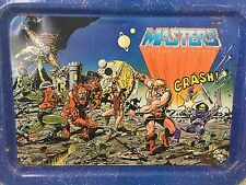 Vintage 1982 Masters of the Universe He-Man Snack ( TV) Play TRAY Tin w legs
