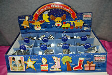 Metal Christmas Cookie Cutters Kaiser Lot of 180 Mini  Assorted   M3933