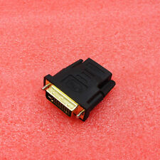 DVI-D 24+1Pin DVI Male to HDMI Female adapter Gold-Plated M to F Converter