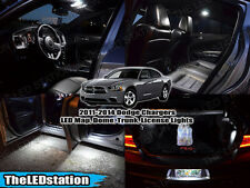 White SMD LED Interior Map Dome Cargo License Plate Lights Kit 2011-2014 Charger