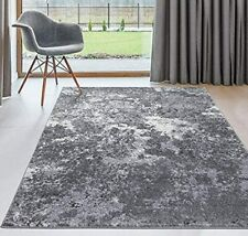 Abstract Contemporary Area Rug Dark Gray Carpets Floor Decor Large Rugs Sale New