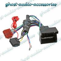 Audi S3 Amplified Quadlock ISO Radio Stereo harness adapter wiring connector