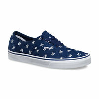 VANS x NY YANKEES Authentic Mens Shoes  NEW YORK Navy MLB BASEBALL Free Shipping