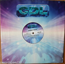 """12"""" JOHNNY RIGHT - I Wanna (Be With You Tonight) - CDL"""