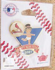 2007 St. Louis Cardinals Baby New Years lapel pin MLB
