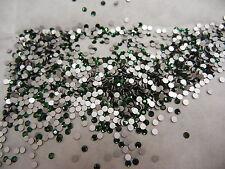 full package,1440 preciosa flatbacks,6ss green turmaline/foiled