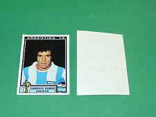 PANINI FOOTBALL ARGENTINA 78 N°51 RUBEN GALLEGO MUNDIAL WM78 1978 WORLD CUP