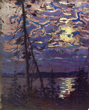 Moonlight    by Tom Thomson  Giclee Canvas Print Repro