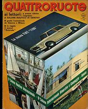 AA] QUATTRORUOTE N° 122 - FEBBRAIO 1966 - NSU PRINZ 1000 S _ BIZZARRINI 5300 GT