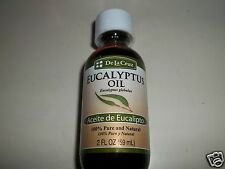 DE LA CRUZ EUCALYPTUS OIL 2 OZ FOR USE ON THE SKIN WITH A CARRIER OIL OR BATH