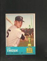 1963 Topps # 470 Tom Tresh RC NM