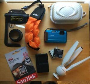 Panasonic LUMIX Waterproof Digital Camera, Used, Great Condition, w/Accessories