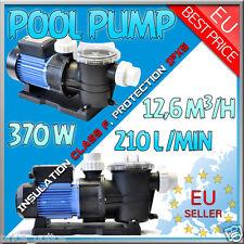 ELETTROPOMPA per PISCINA 0,5 HP 370 w pompa Monofase filtraggio CLASS F IPX5