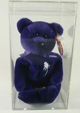 TY Beanie Babies PRINCESS DIANA BEAR, 1997 1st Edition RARE