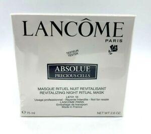 Lancome Absolue Precious Cells Revitalizing Night Ritual Mask - 2.6 oz - BNIB