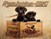 Remington Finders Keepers Vintage Rustic Retro Tin Sign 16 x 13in