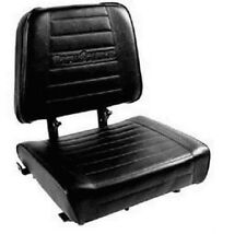 "SUPERIOR Forklift Seat with Switch (Hyster, Cat, Mitsubishi) 20""x19.5""x17""-Vinyl"