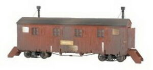 Bachmann 26996 On30 Mess Hall Dining Car Camp Cars LN/Box