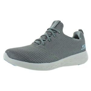 Skechers Mens Go Run 600-Defiance Goga Mat Running Shoes Sneakers BHFO 7714