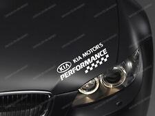 Kia Performance Sticker for Bonnet Ceed Optima Rio Soul Sportage Stinger