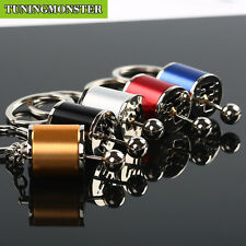 Lot 5PCS Six Speed Removable Transmission Gear Shift Gearshift Gearbox Keychain