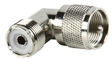 PL259 SO239 Right Angle Elbow Male Female Adaptor Convertor