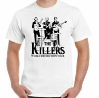 The Killers T-Shirt World Destruction Tour Mens Funny Parody War Satire Top