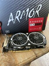 MSI AMD Radeon RX 570 Armor 4GB GDDR5 Graphics Card