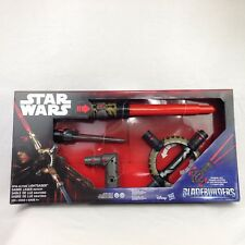 Lightsaber Star Wars BladeBuilders Spin-Action Jedi Sith Inquisitor New in box