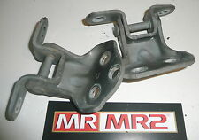Toyota MR2 MK2 Drivers Side Door Hinges -  Black 202 - Right - Mr MR2 Used Parts